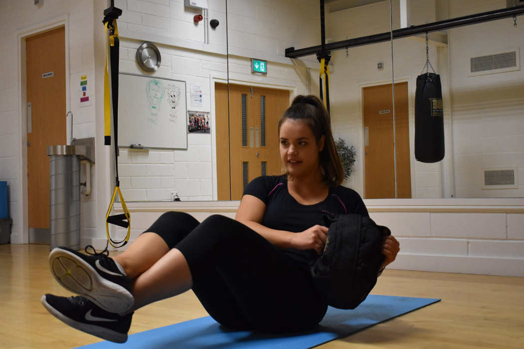 core strength exercises in york gym