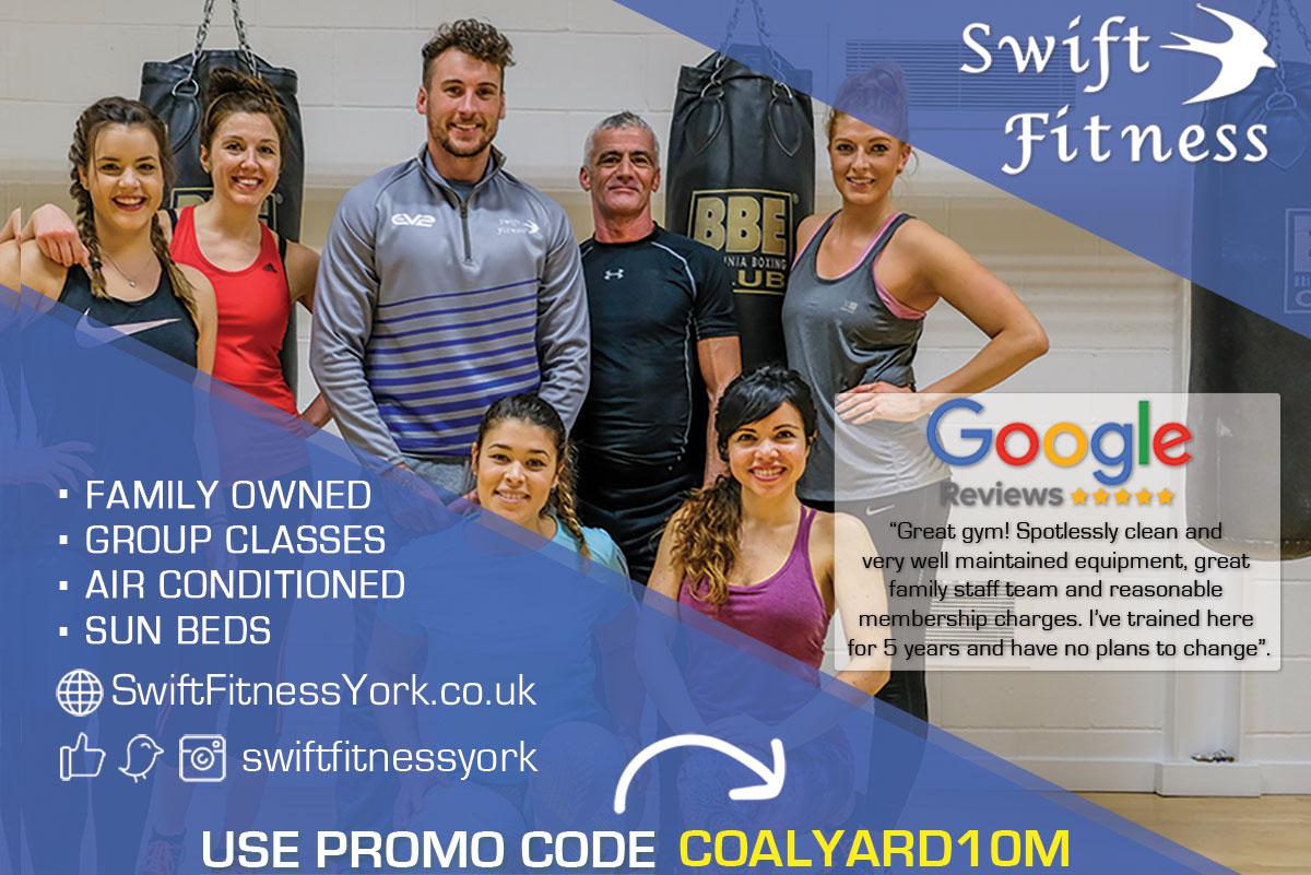 swift fitness york student offer